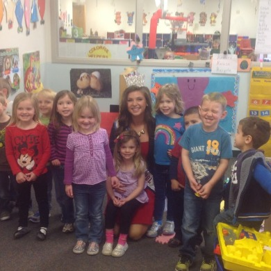 GAB visits Pearl City, Illinois with Miss High School America (Photos)