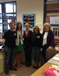 GAB visits Rolling Hills Elementary with Miss High School America