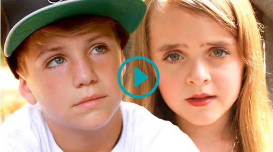 (Video) Uplifting! MattyB Raps Cyndi Laupers, True Colors