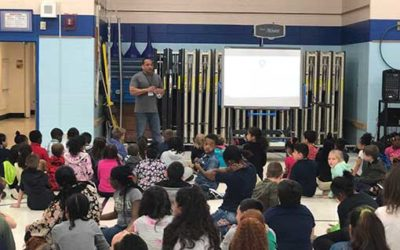 GAB Visits Lowell International Elementary School