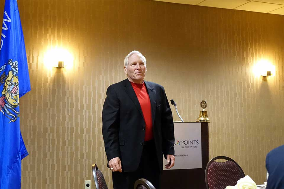 GAB Exec Speaks at Rotary Club of Milwaukee-North Shore