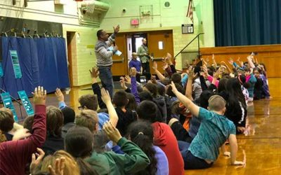 GAB & FRIENDS VISIT A.E. BURDICK SCHOOL
