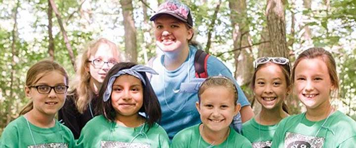 GIRL SCOUTS INTRODUCED TO GAB AT CAMP ALICE CHESTER