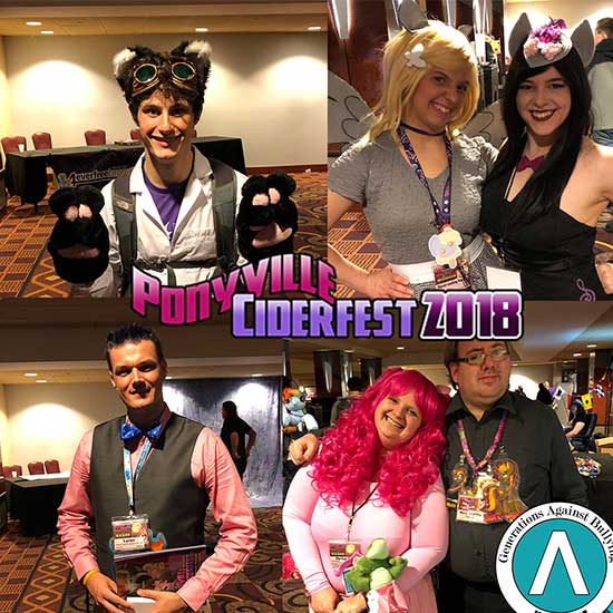 A wonderful weekend with our friends from Ponyville Ciderfest