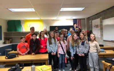 Clark Middle School Class Presentation
